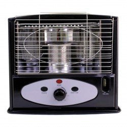 Kerona Paraffin Heater Black