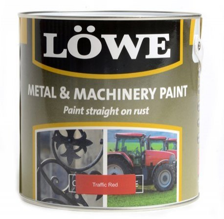 Lowe Metal and Machinery Paint 2.5lt