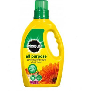 Miracle Gro All Purpose Liquid Plant Food 1lt