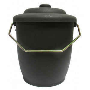 Esentials Coal Bucket With Lid PVC