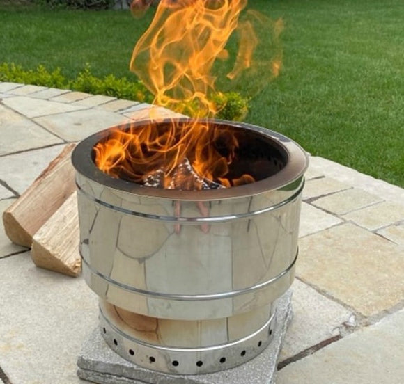 Phoenix Stainless Steel Fire Pit