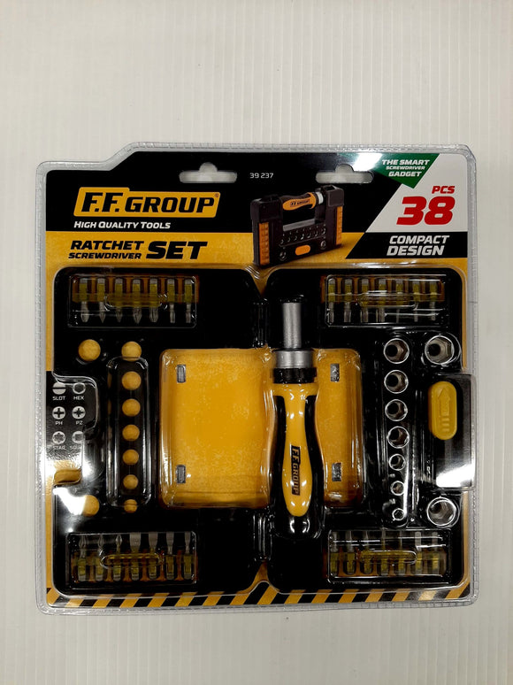 Ratchet Screwdriver Set 38 Piece