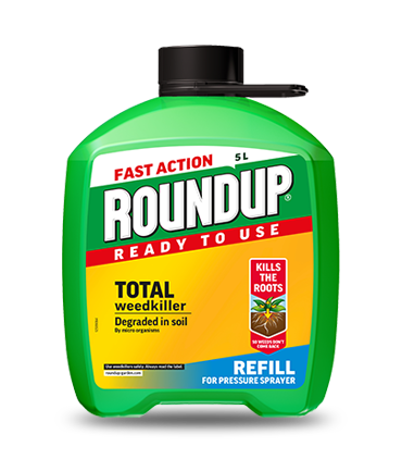 Roundup Weedkiller Refill Tub 5lt