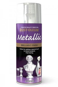 Rust-Oleum Metallic Bright Chrome Spray Paint