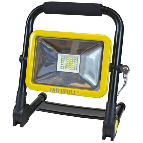 SMD 20 Watt Folding Rechargeable Site Work Light