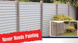 Smart Fence Fence Panel Pack Merlin Grey 5 Pack