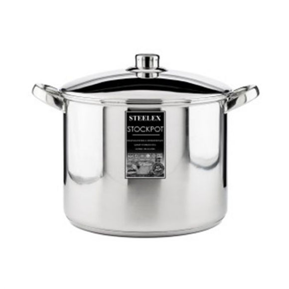 26cm Deep Stainless Steel Casserole Pot