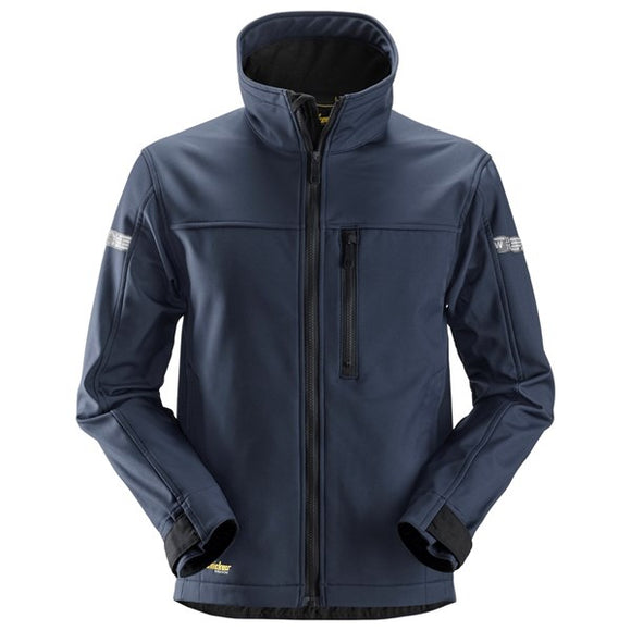 Snickers Navy Softshell Jacket Extra Large