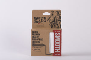 "Two Fussy Blokes 4"" Roller Smooth 10PK"