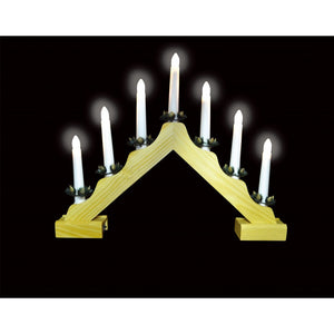Candle Bridge Wooden Battery Operated