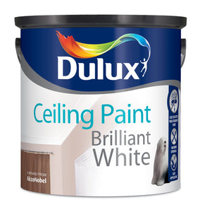 Dulux Ceiling Paint Pure Brilliant White  2.5L