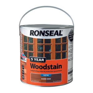 5 Year Woodstain 2.5L Dark Oak