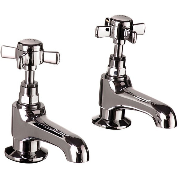 Time Traditional Pair 1/2 Basin Taps