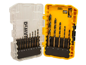 Dewalt 14 Piece Black & Gold HSS Drill Bit Set