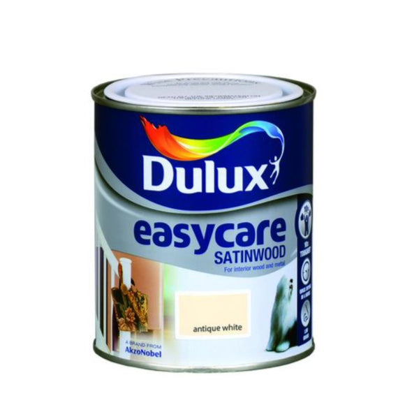Dulux Satinwood Easycare Antique White 750ml