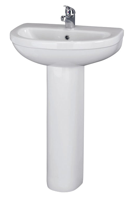 Ivo Large Basin and Pedestal