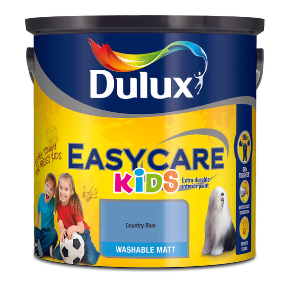 Dulux Kids Easycare County Blue 2.5L