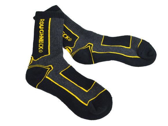 Roughneck Work Socks (Twin Pack)