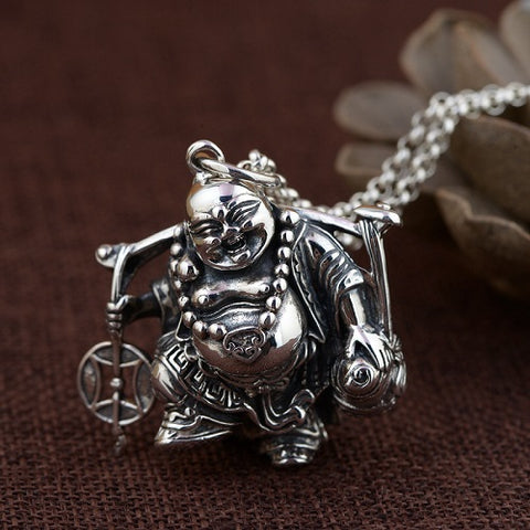 Bouddha Souriant Collier