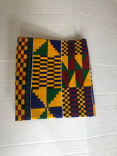 Load image into Gallery viewer, kente Headwrap and facemask - Bnikkycouture