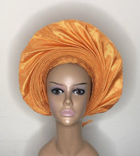 Load image into Gallery viewer, Ajoke Aso-Oke Headwrap - Bnikkycouture