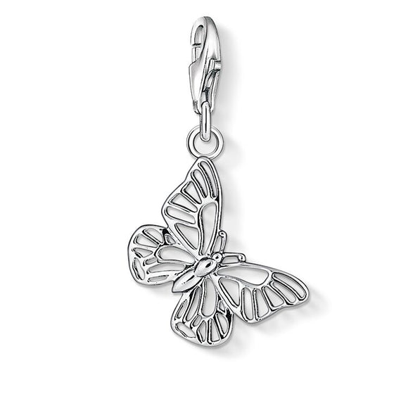 Thomas Sabo Silver Butterfly Charm