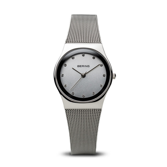 Bering Classic Polished Silver Watch, 12927-000