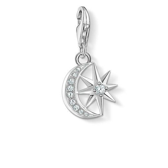 Thomas Sabo Moon And Star Charm