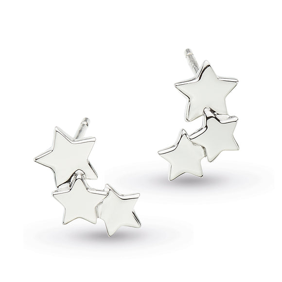 Kit Heath Silver Stargazer Earrings