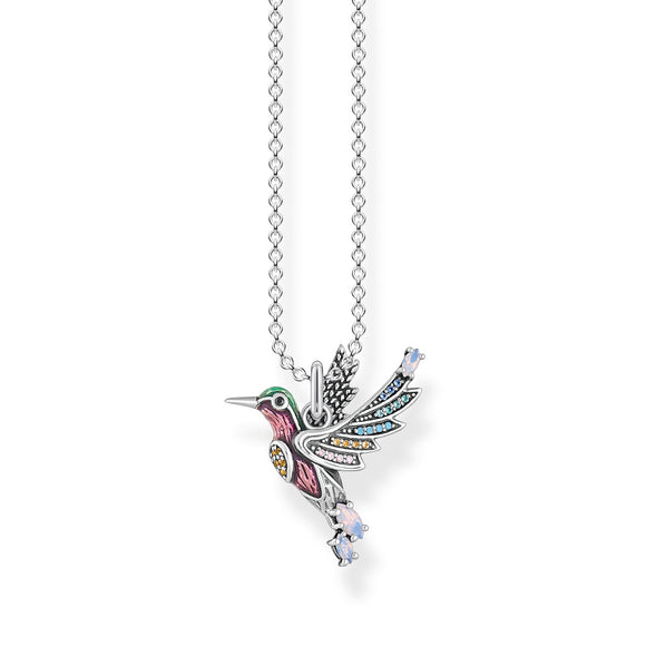 THOMAS SABO SILVER HUMMINGBIRD NECKLACE