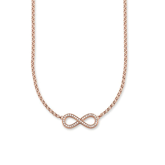 Thomas Sabo Infinity Necklace Rose Gold