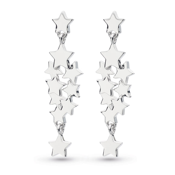 Kit Heath Silver Stargazer Drop Earrings