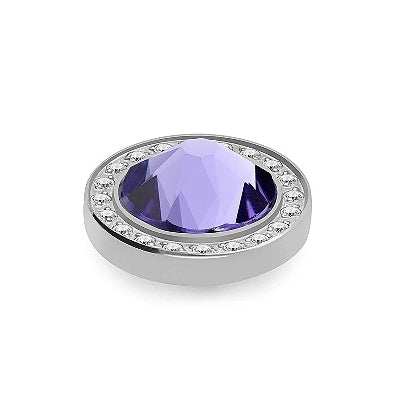 Qudo Silver 10.5mm Canino Deluxe In Tanzanite