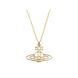 Vivienne Westwood Thin Lines Necklace Gold