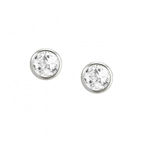 Nomination Silver Crystal Stud Earrings