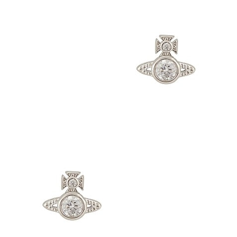 Vivienne Westwood London Silver Tone Earrings
