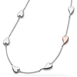 Kit Heath Desire Kiss Heart Necklace 90501rrp