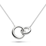 Kit Heath Bevel Cirque Silver Necklace