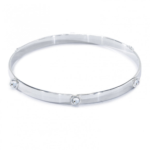 Annie Haak Silver Samara Bangle