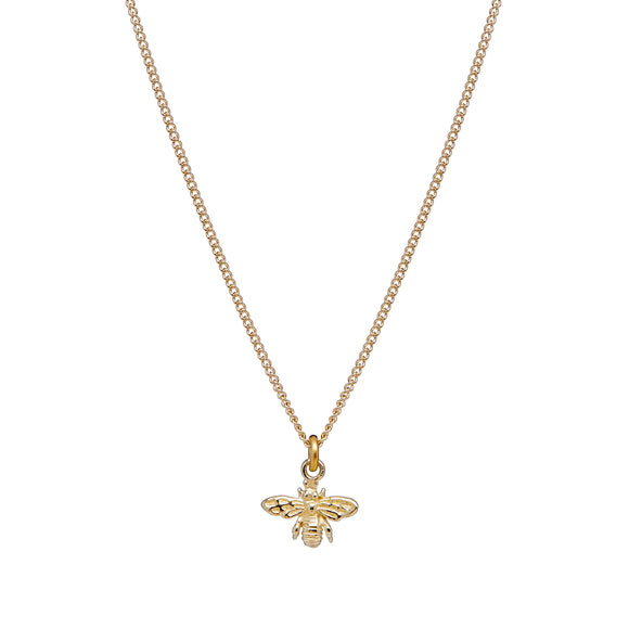 Annie haak tiny god bee necklace