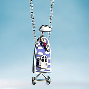Alan Ardiff Silver Dream Machine Necklace