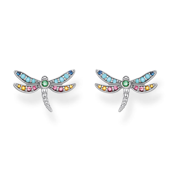Thomas Sabo Silver Dragonfly Earrings