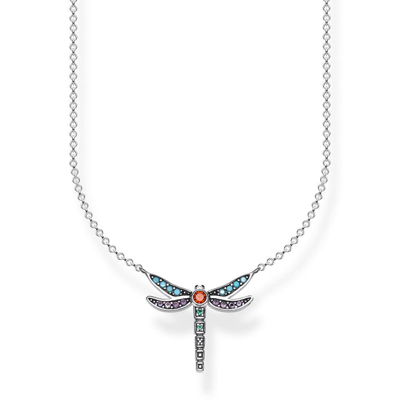 Thomas Sabo Silver Dragonfly Necklace
