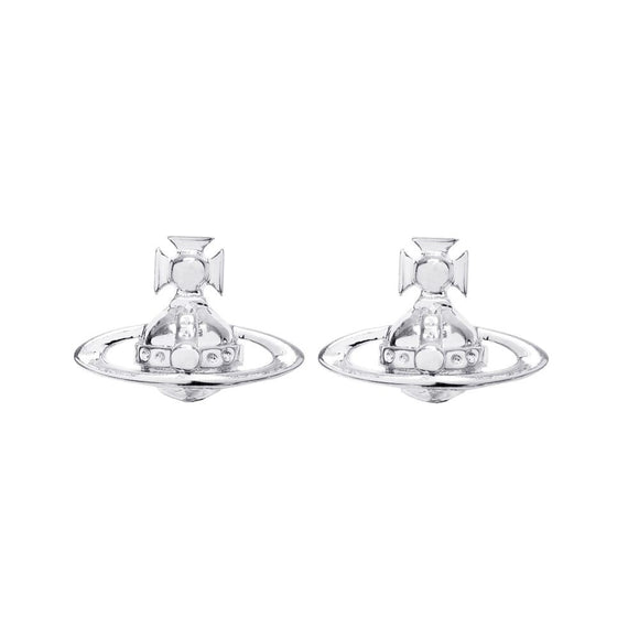 Vivienne Westwood Lorelei Silver Tone Earrings