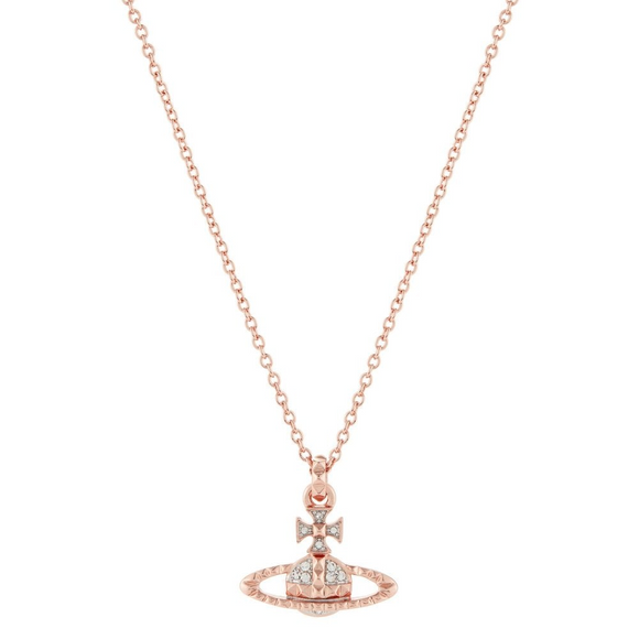 Vivienne Westwood Mayfair Rose Gold Tone Necklace