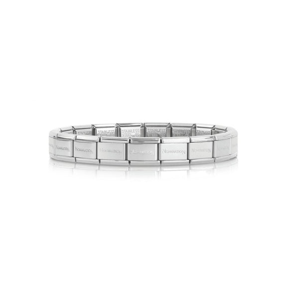 Nomination Classic Stainless Steel Base Charm Bracelet