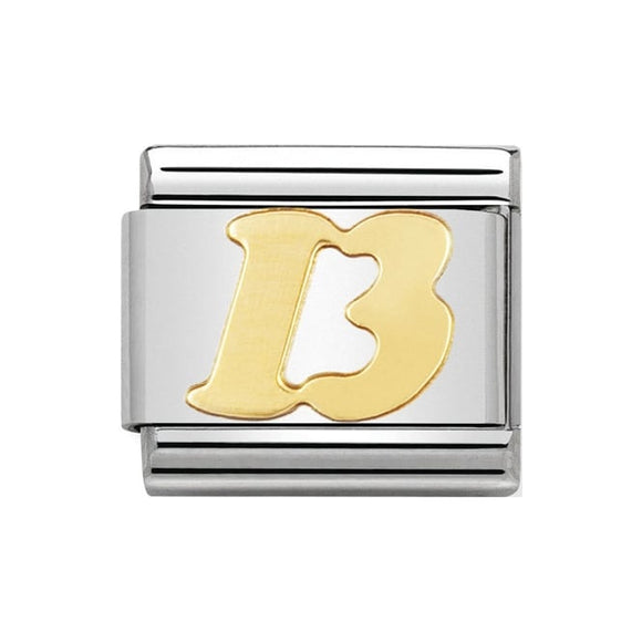 Nomination Gold 13 Charm