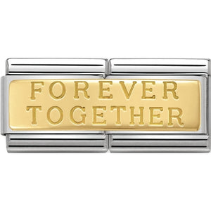 Nomination Gold Forever Together Double Charm