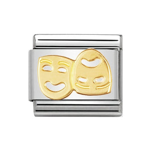 Nomination Gold Masks Charm