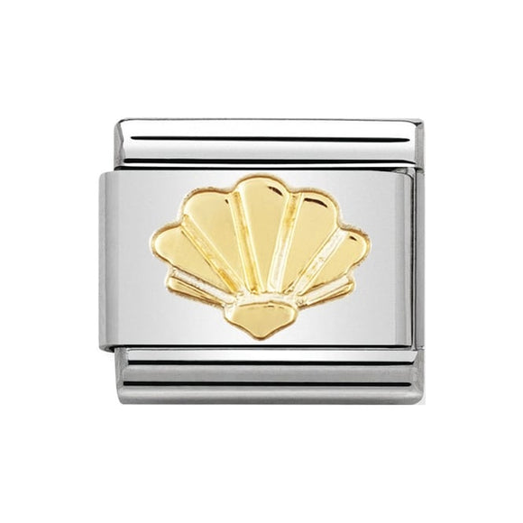 Nomination Gold Shell Charm